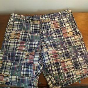 J.Crew plaid shorts